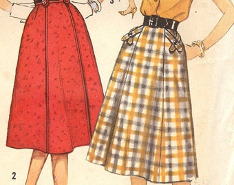 Simplicity 2701 Misses and womans skirt sewing pattern ID123