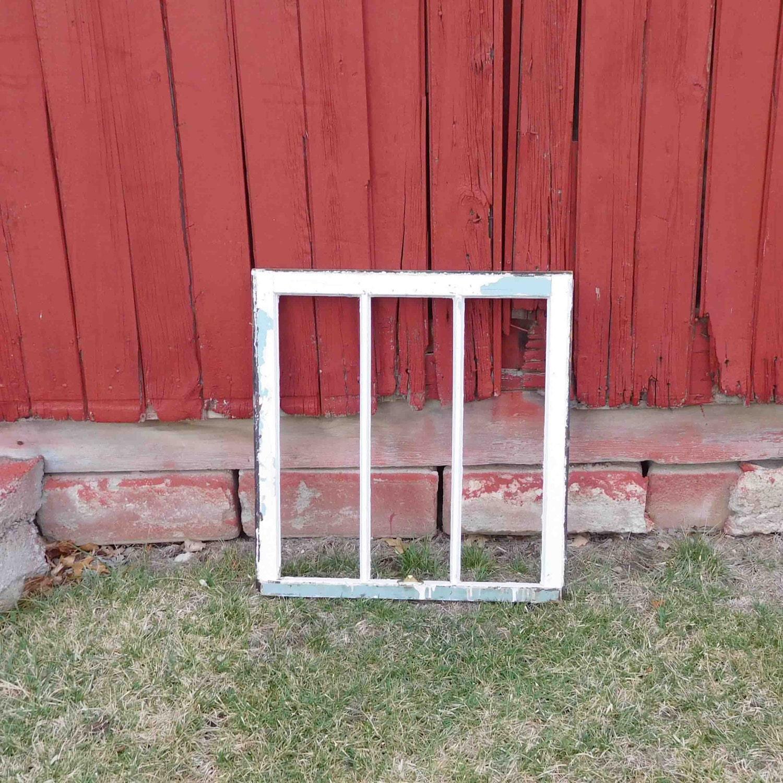 Wooden Window Frame Crafts Vintage Wood Window Frame Single Pane One Pane Farmhouse Diy