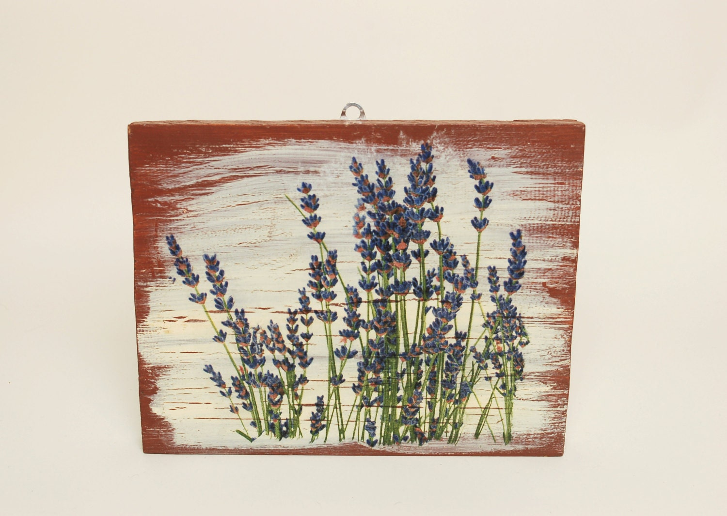 Kitchen Wall Hanging Thyme Wall Art Decoupage Wall Art Herbs Wall Hanging