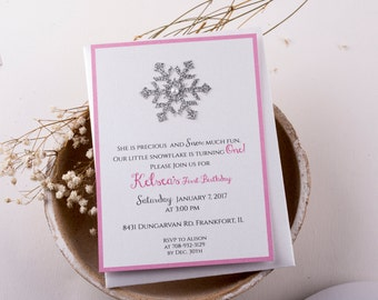 winter wonderland invitations  etsy, Birthday invitations