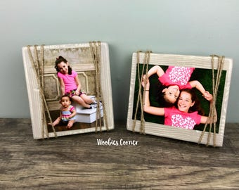 Rustic Picture Frame Set, Wood Picture Frame, Rustic Picture Frame, Rustic Wood Frame, Gallery wall decor, Picture Frame Set, Wood Frame