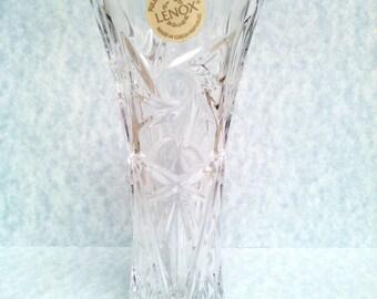 Lenox Crystal Vase bud vase Crystal Vase lead Crystal Lenox Crystal vintage Crystal vintgae Lenox bud vase Crystal flower vase