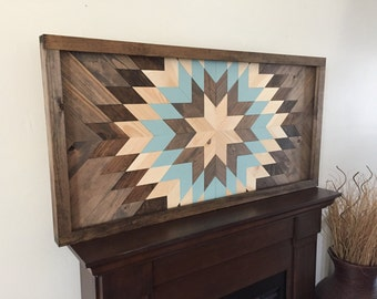 Reclaimed wood wall art, wood wall decor, modern wall decor, wooden sun burst, barn wood decor, farmhouse decor