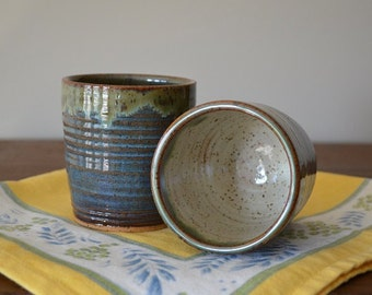 pair of tumblers, wine cups, espresso cups, tea cups, juice cups, pottery cups, drinking cups