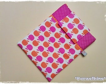 Cover for Tablet PC / IPad - Apple pink orange