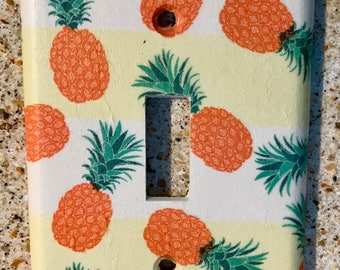 Pineapples Light Switch Cover