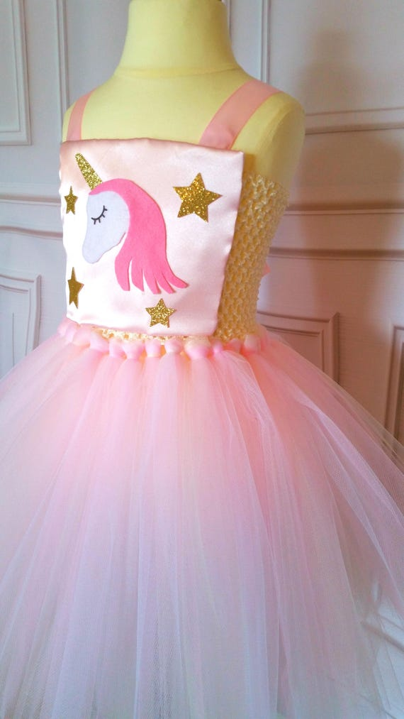 unicorn tutu dress unicorn costume unicorn dress pink and