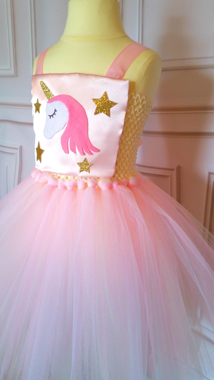Unicorn Tutu Dress Unicorn Costume Unicorn Dress Pink And