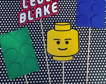 Lego Centerpiece Sticks