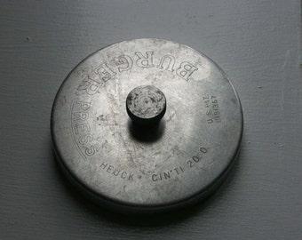 Vintage Aluminum Burger Press - Made in USA