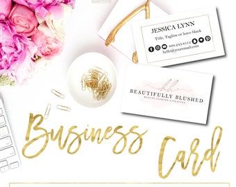 Business Card Add On, Business Card, Matching Business Card