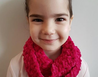 Scarf for girls, scarf for kids, infinity scarf for girls