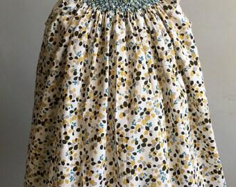 Vintage Baby Dress, Liberty of London Smocked Dress