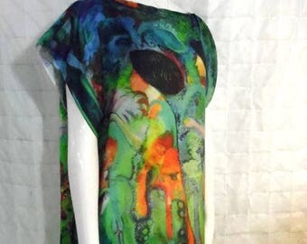 Disorder Original Art 'Gift' Tunic Dress