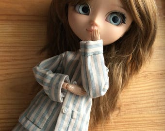 Pajamas «grandfather», for Pullip dolls or similar formats