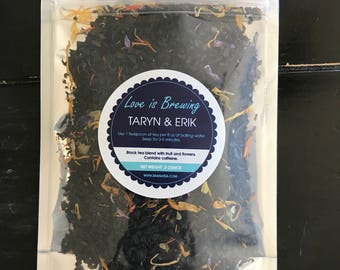 Bridal Shower Tea Favor Gift
