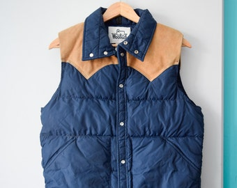 Down filled Woolrich vest | Men's M
