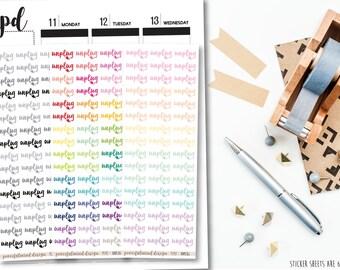 Unplug Stickers - Planner Stickers - FS92