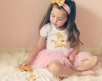 BIG SISTER shirt - promoted to big sister shirt - big sis shirt - little sister shirt - shirt Big Sister Gift Big Sister Little Sister