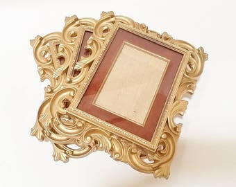5x7 Picture Frame, Gold Frame 5x7, Picture Frame, Vintage Picture Frames