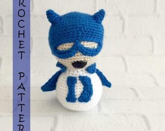 Duke Blue Devil Baby Rattle CROCHET PATTERN