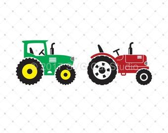 Tractor SVG Cut Files for Cricut, Farm SVG, Farm Life SVG, Farmer svg cut files for Cricut and Silhouette, svg files