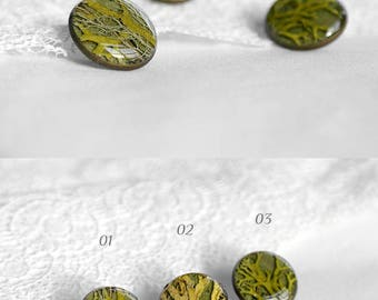 Gift ideas for him Cute gift brooches pin Romantic jewelry for gift for men Green brooch for women Natural brooch Vegan gift for girlfriend