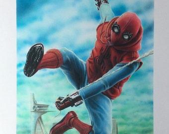 Spider-Man Homecoming Drawing (original)