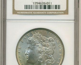 1886 Morgan Silver Dollar MS63 NGC