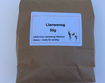 Llanwenog Fleece - 50 grams