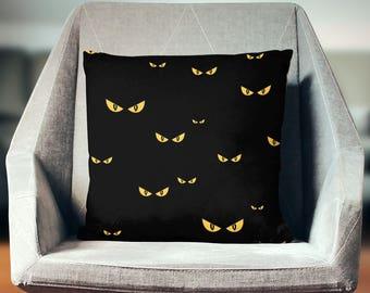 Creepy Cushion | Creepy Decoration | Creepy Décor | Creepy Pillow | Creepy Pillow Case | Creepy Throw Pillow | Creepy Pillow Cover