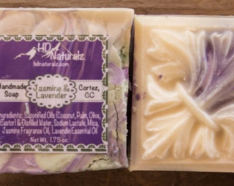 Soap Gift, Stocking Stuffer, Christmas Party Favors, Party Favors for Women, Christmas Gift, Lavender Soap, Jasmine Soap, Soap