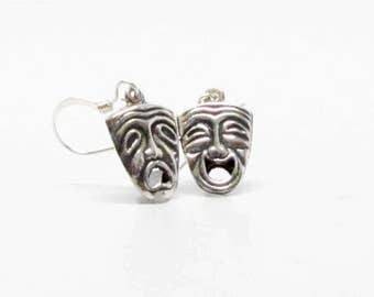 COMEDY-TRAGEDY EARRINGS, Boho Jewelry, Mask Earrings, Theater Gifts, Thespian Gifts, Gifts for Her, Gifts For Mom, Drama Club Gifts, Actress