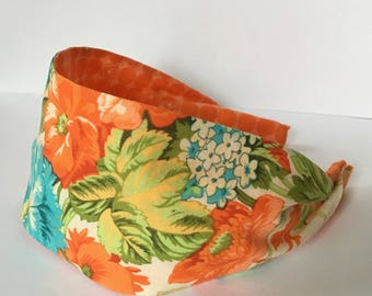 Adult Headbands, Headbands For Women, Wide Headbands, Womens Headbands, Spring Headband, Easter Headband, Fashion Headband, Floral Headband