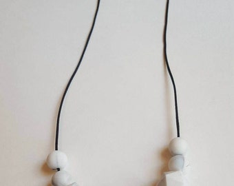 Teething Necklace/Silicone bead necklace/Mommy Teething Necklace