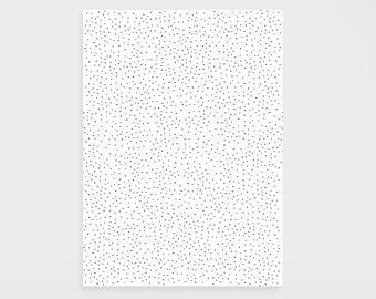 "Gift paper ""Dots blue"""
