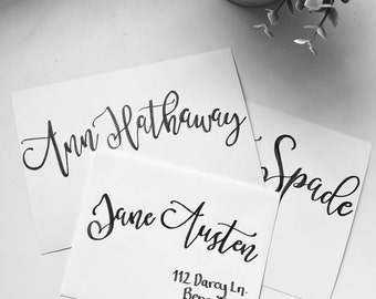 Calligraphy Services/Addressing