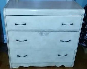 Revamped vintage Dresser