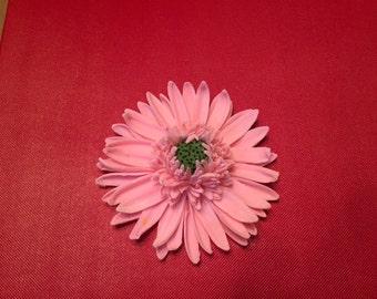 Gumpaste Gerbera Daisy. Hand crafted, wedding, birthday cake topper.