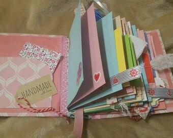 Remember journal, photo book, art journal, album, hardcover, hand bound album, handmade journal, handcrafted, selfmade