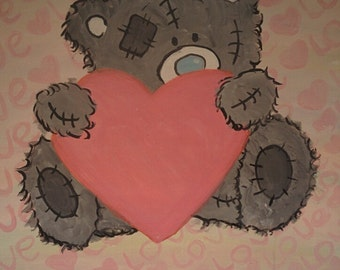 Painting of love bear