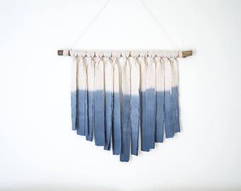 Dip dye Wall Hanging Tapestry