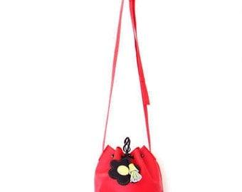 Mini Handmade Bucket Bag