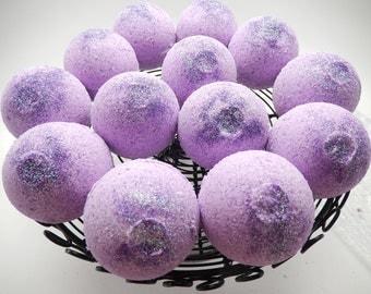 Black Raspberry Vanilla Bath Bomb, Gift, Bath Fizzy, Bath Bomb, Bath Melt, Foaming Bath Bomb, Midsize Bath Bomb, BBW Dupe