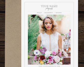 Magazine Template for Wedding Photographers - Photography Welcome Guide - Price List Templates - Welcome Packet - Bridal Guide