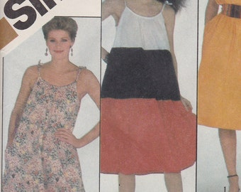 5536 Simplicity Dress Pattern size 10-12 FF