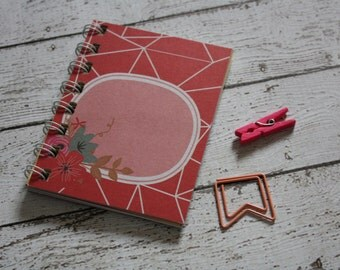 mini junk journal, small junk journal, mini notebook, small notebook, little journal, small journal