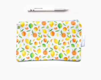 Zipper makeup pouch, fabric pouch, zipper pouch, fabric zipper Pouch, zip makeup pouch, zipper makeup bag fabric zip pouch fabric zipper bag