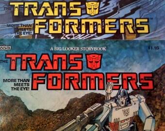 Transformers Books, Set of 2