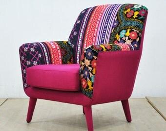 Bay Armchair - pink love